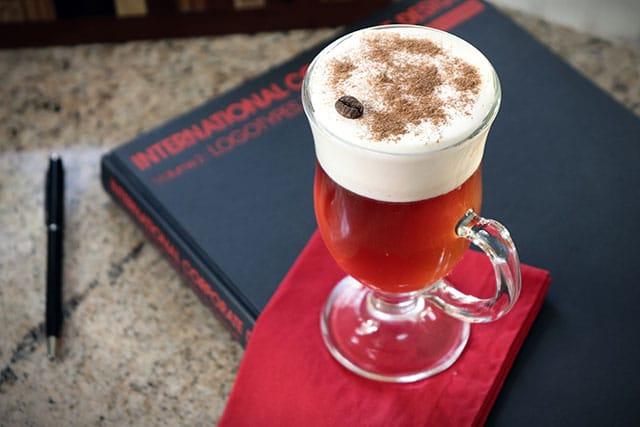 Irish Coffee de Cachaça Fabulosa